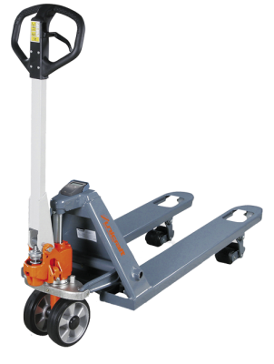 Professional hand lift truck with integrated electronic scale PHW 2002 WE, PHW 2002 W, PHW 2002 WP