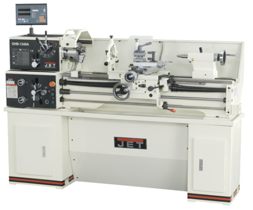 Metal lathes GHB 1330 / GHB 1340 with 3-axis digital readout