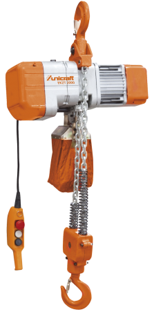 Electrical chain hoist with hook  EKZT500, EKZT1000, EKZT2000