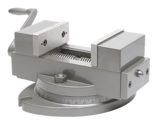 Self centering vise for machine tool