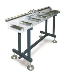 Roller tables, roller conveyors and industrial roller table